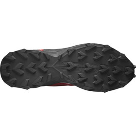 Salomon Supercross Schuhe Herren red dahlia/pearl blue/black